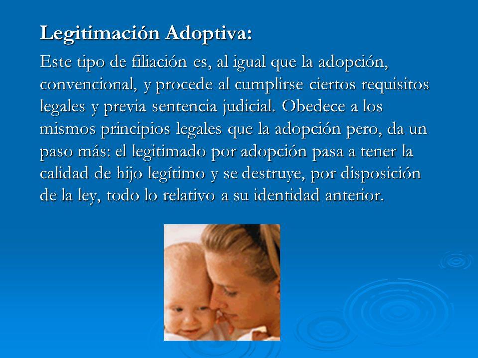 Legitimación Adoptiva: