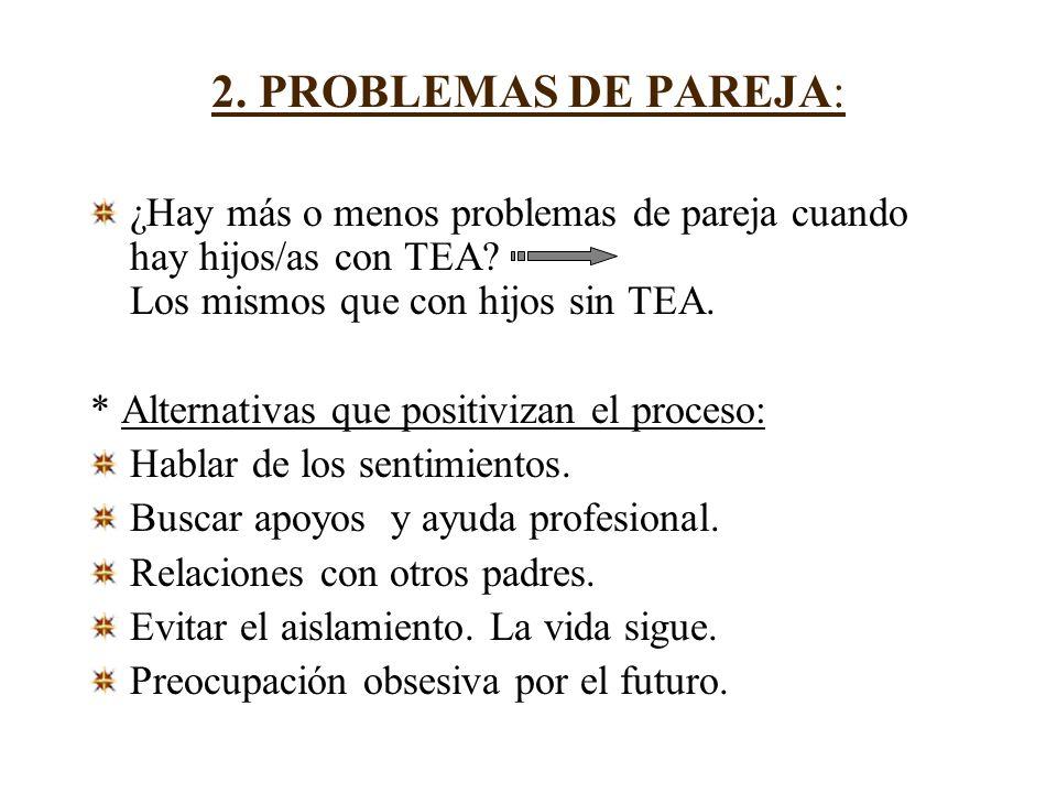 2. PROBLEMAS DE PAREJA: