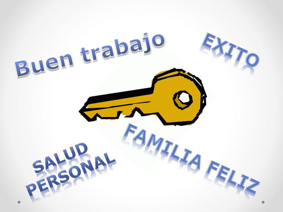 Buen trabajo EXITO SALUD personal Familia feliz