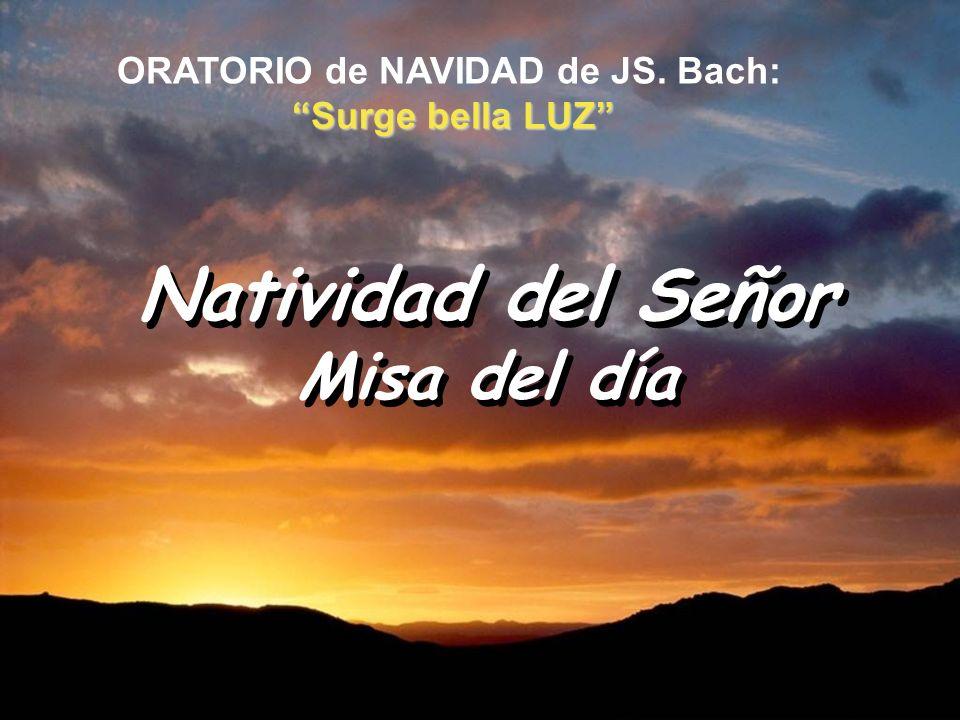 ORATORIO de NAVIDAD de JS. Bach: Surge bella LUZ