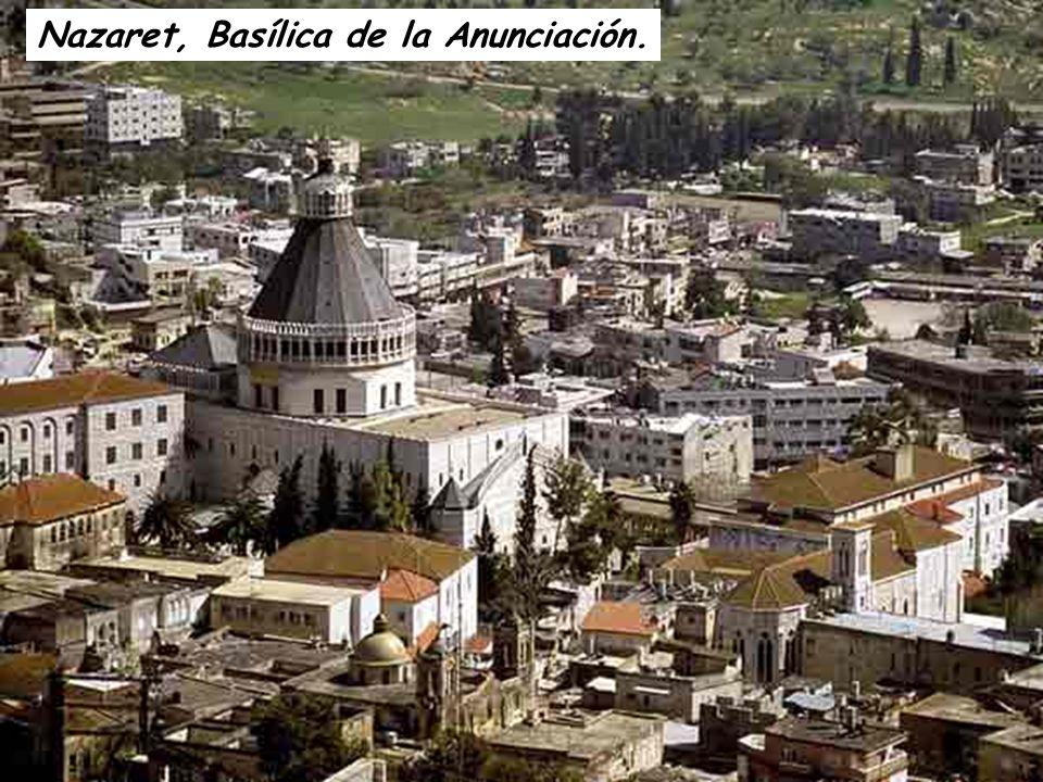 Nazaret, Basílica de la Anunciación.