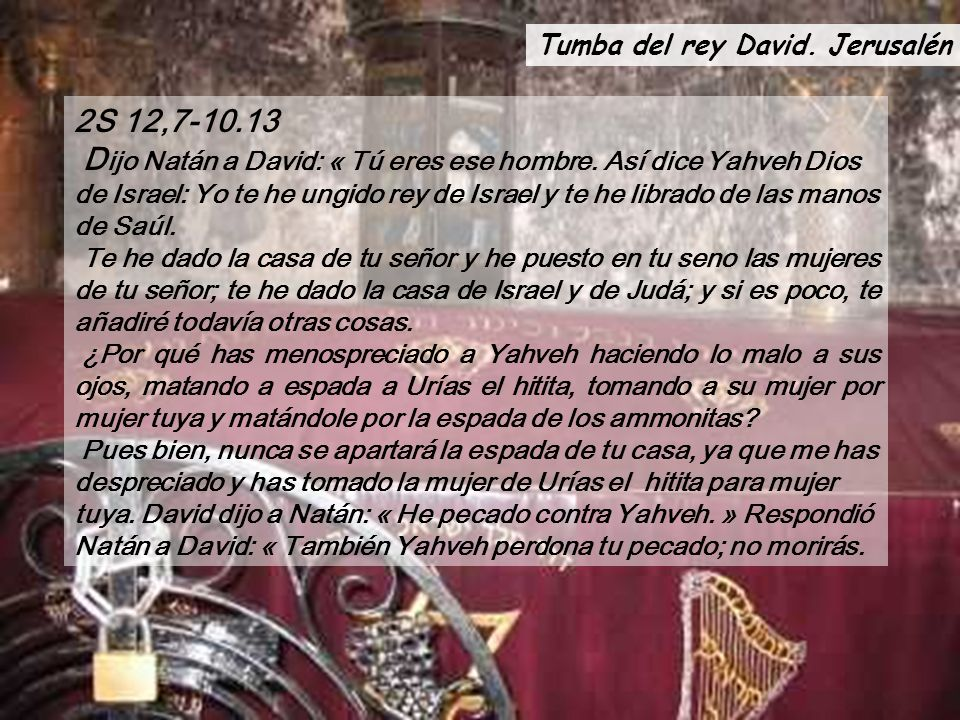 Tumba del rey David. Jerusalén