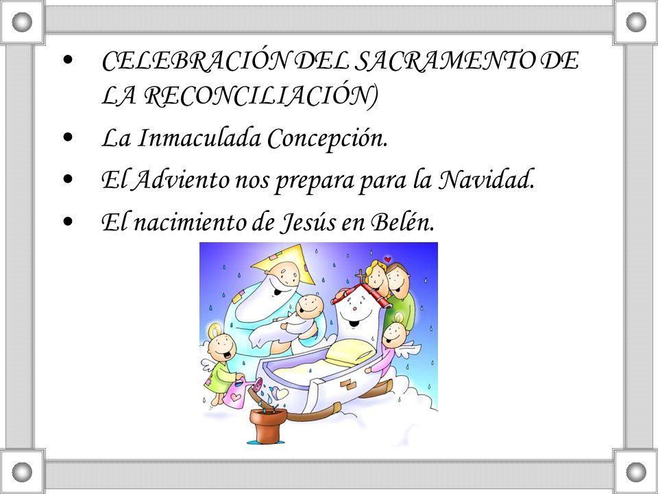 CELEBRACIÓN DEL SACRAMENTO DE LA RECONCILIACIÓN)