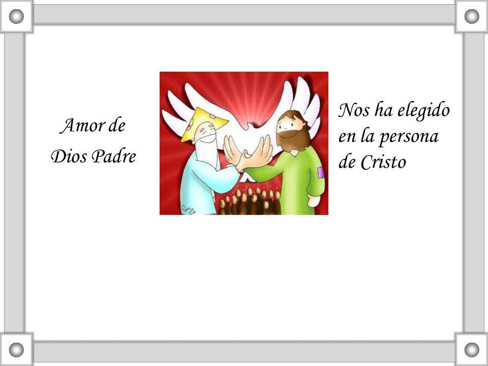 Nos ha elegido en la persona de Cristo