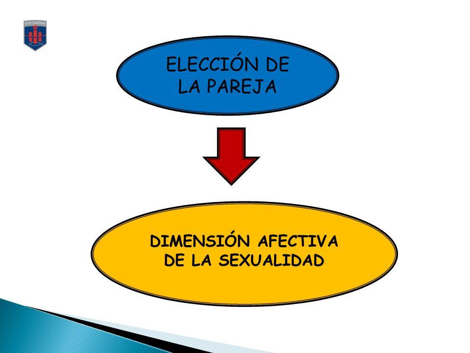 DIMENSIÓN AFECTIVA DE LA SEXUALIDAD