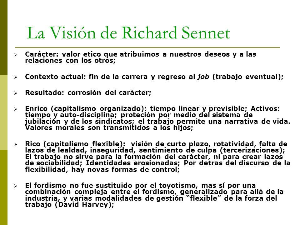 La Visión de Richard Sennet