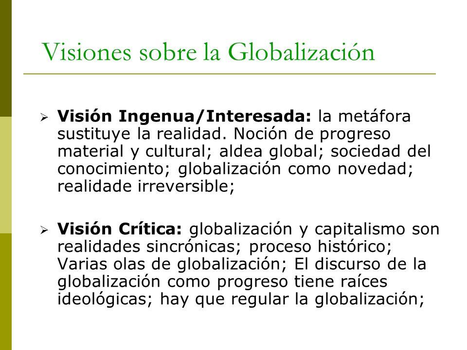 Visiones sobre la Globalización