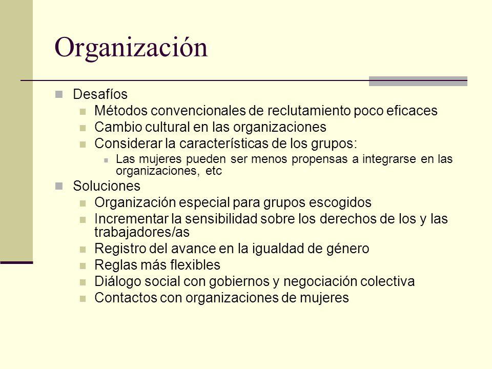 Organización Desafíos