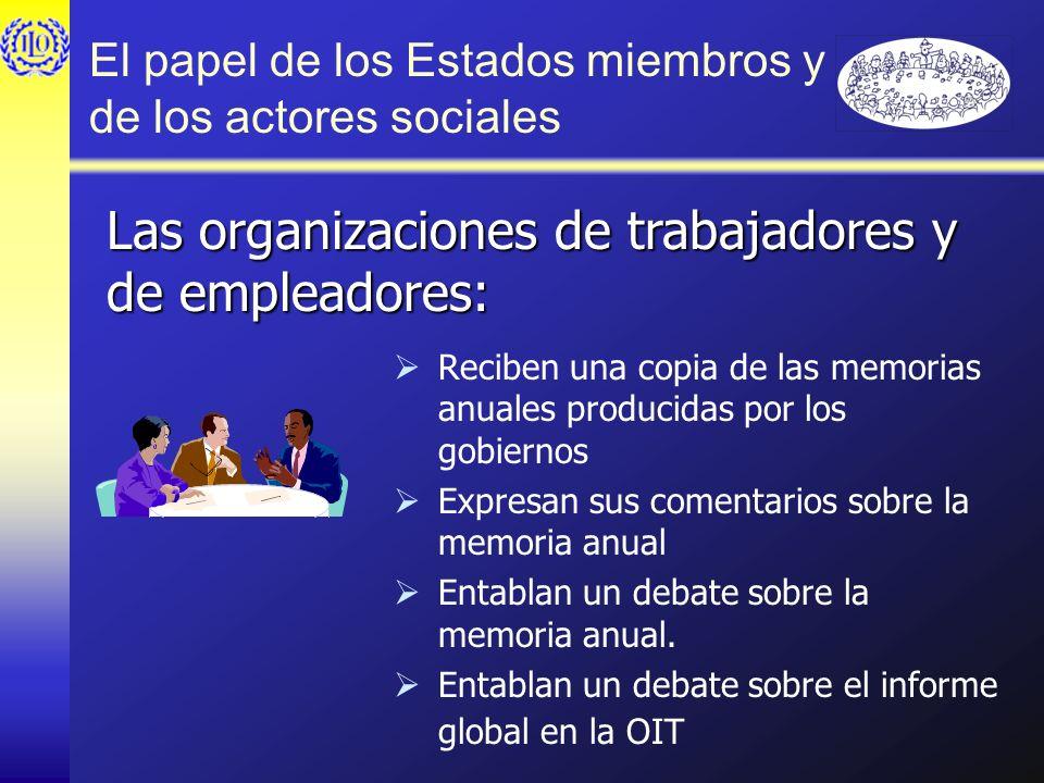 El papel de los Estados miembros y de los actores sociales