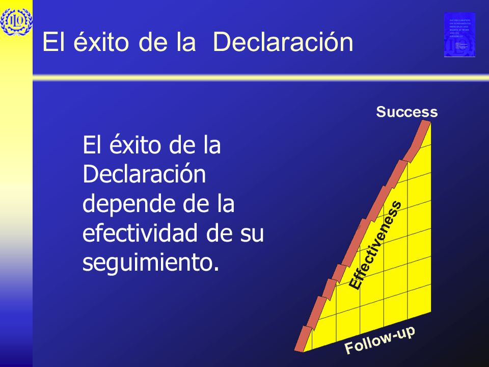 El éxito de la Declaración
