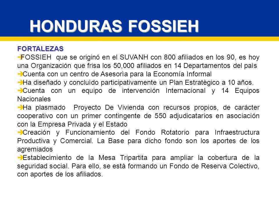 HONDURAS FOSSIEH FORTALEZAS
