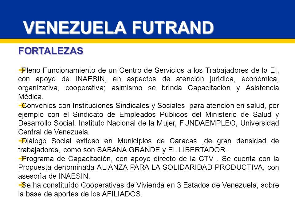 VENEZUELA FUTRAND FORTALEZAS