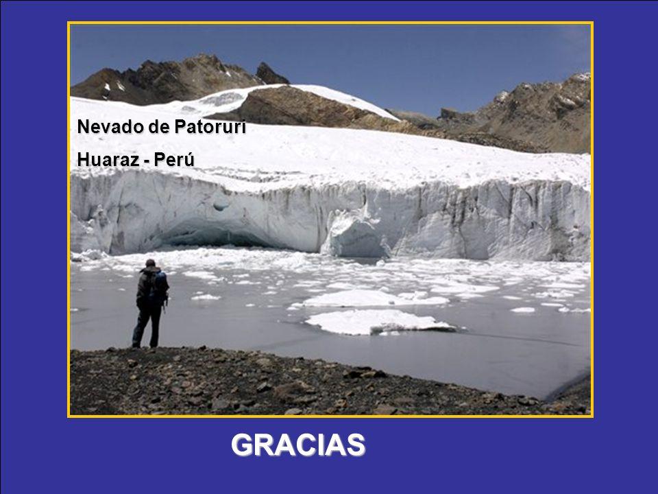 Nevado de Patoruri Huaraz - Perú GRACIAS