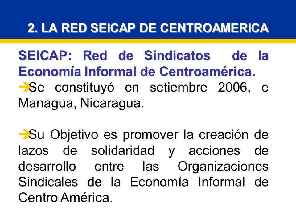 2. LA RED SEICAP DE CENTROAMERICA