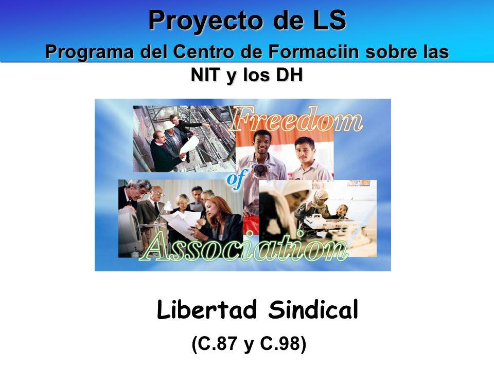 Programa del Centro de Formaciin sobre las NIT y los DH
