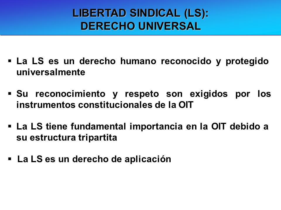 LIBERTAD SINDICAL (LS):