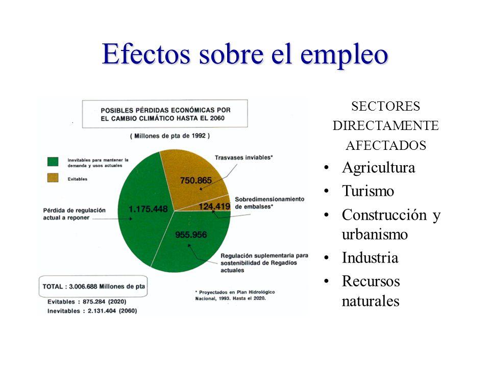 Efectos sobre el empleo