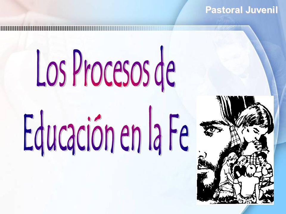 Los Procesos de Educación en la Fe