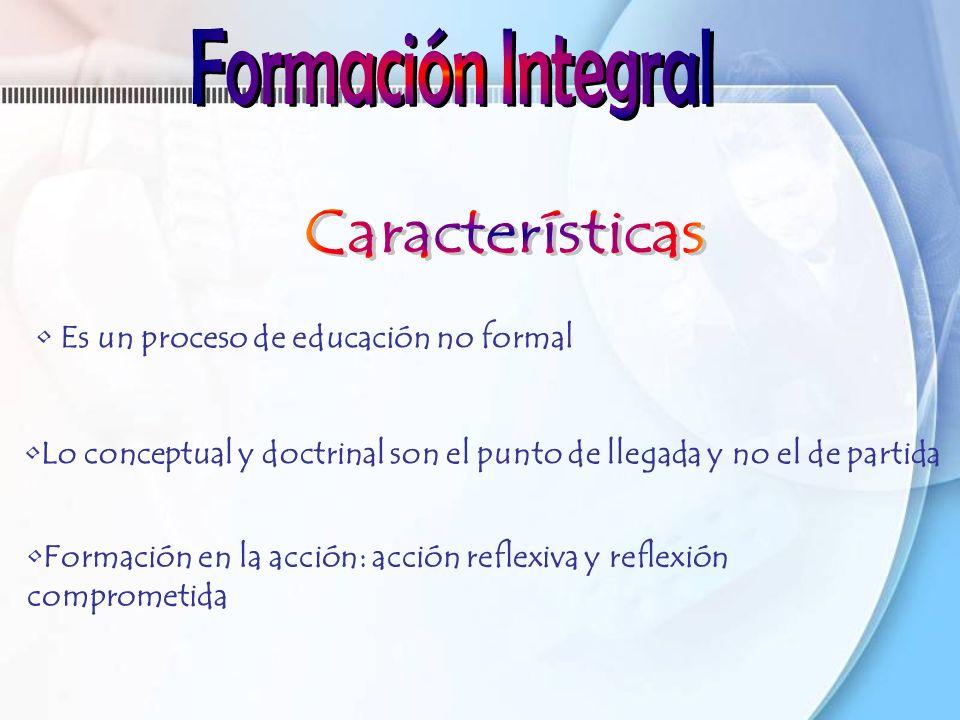 Formación Integral Características