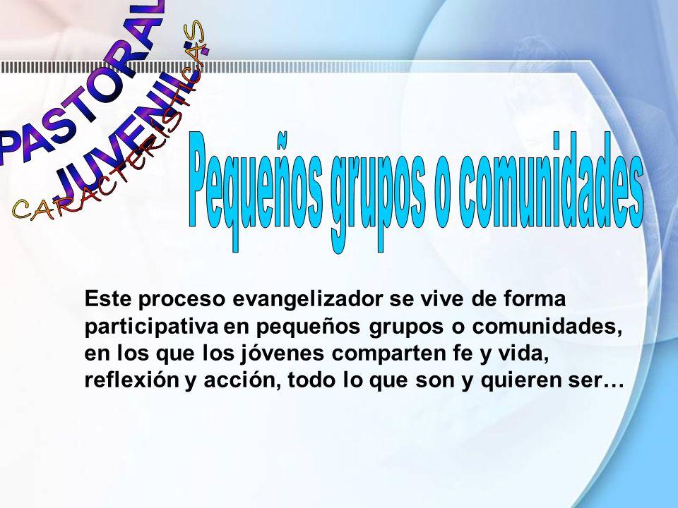 Pequeños grupos o comunidades