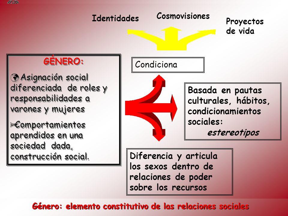Género: elemento constitutivo de las relaciones sociales