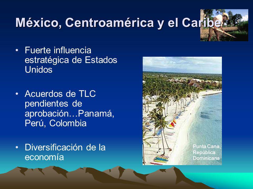 México, Centroamérica y el Caribe