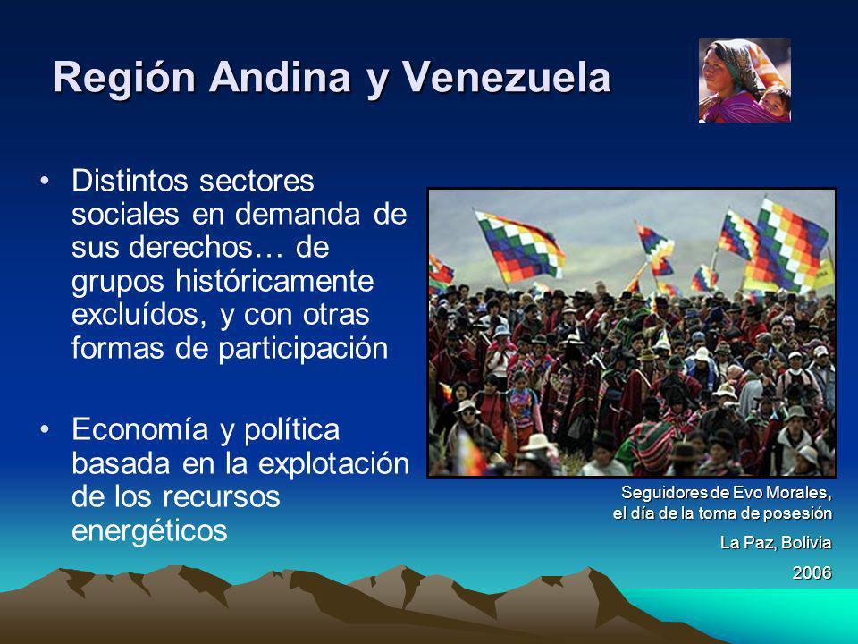 Región Andina y Venezuela
