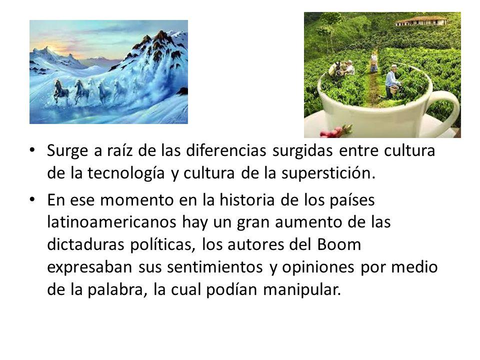 Surge a raíz de las diferencias surgidas entre cultura de la tecnología y cultura de la superstición.