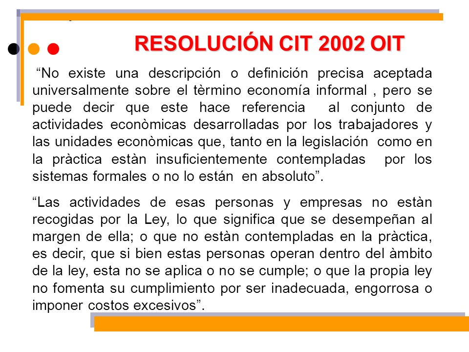 RESOLUCIÓN CIT 2002 OIT