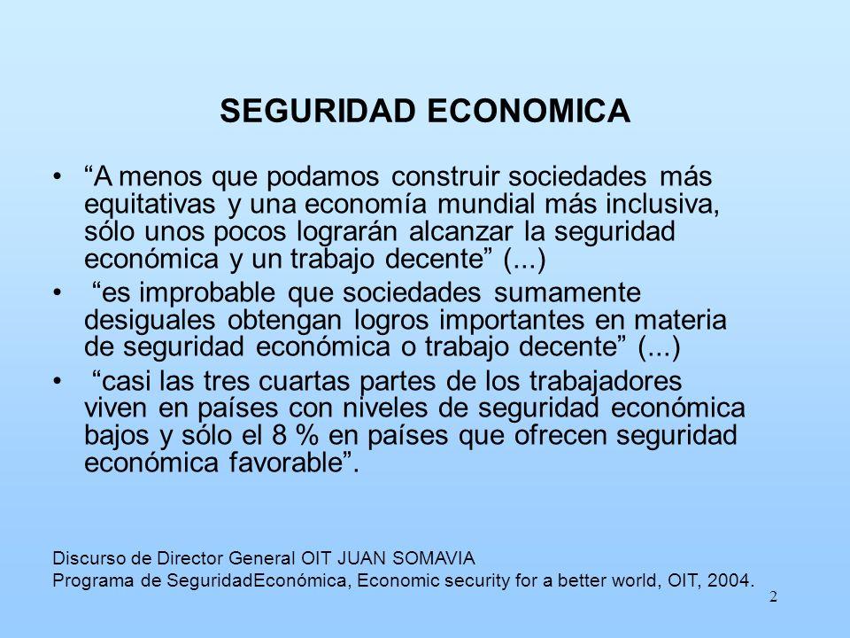 SEGURIDAD ECONOMICA