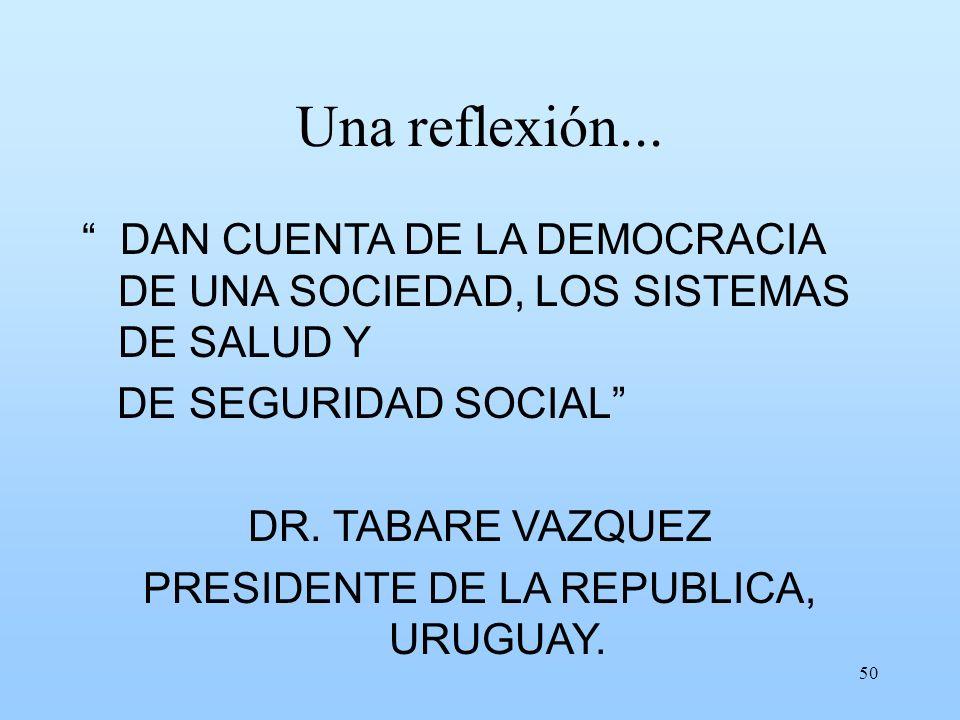 PRESIDENTE DE LA REPUBLICA, URUGUAY.