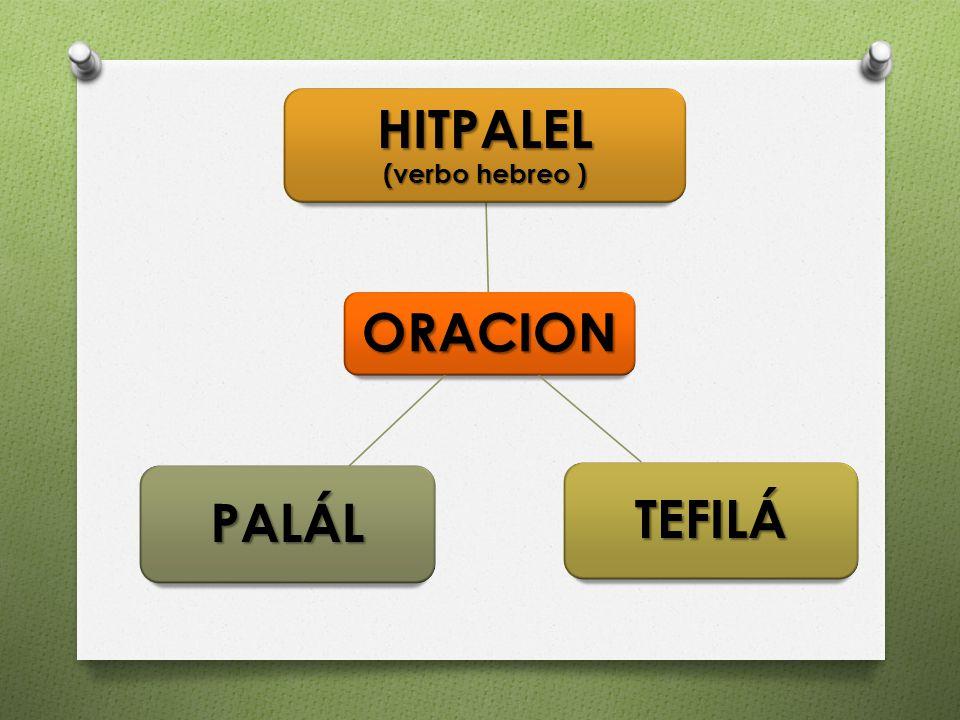 HITPALEL (verbo hebreo )