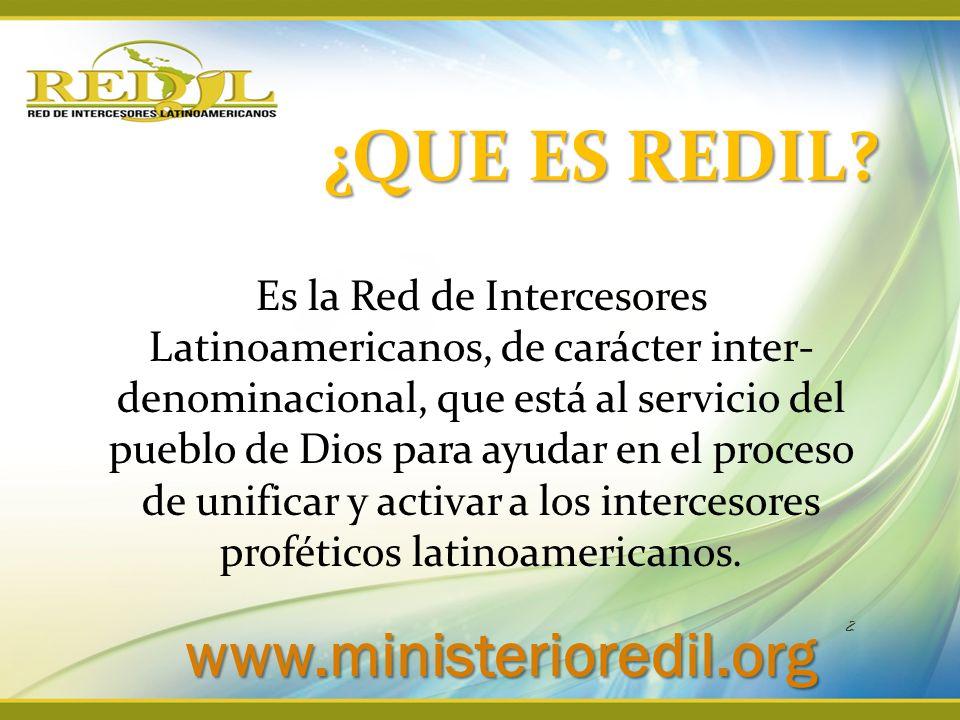 ¿QUE ES REDIL www.ministerioredil.org