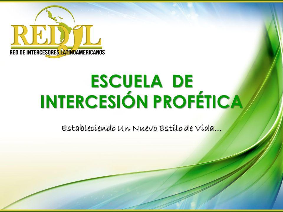 ESCUELA DE INTERCESIÓN PROFÉTICA