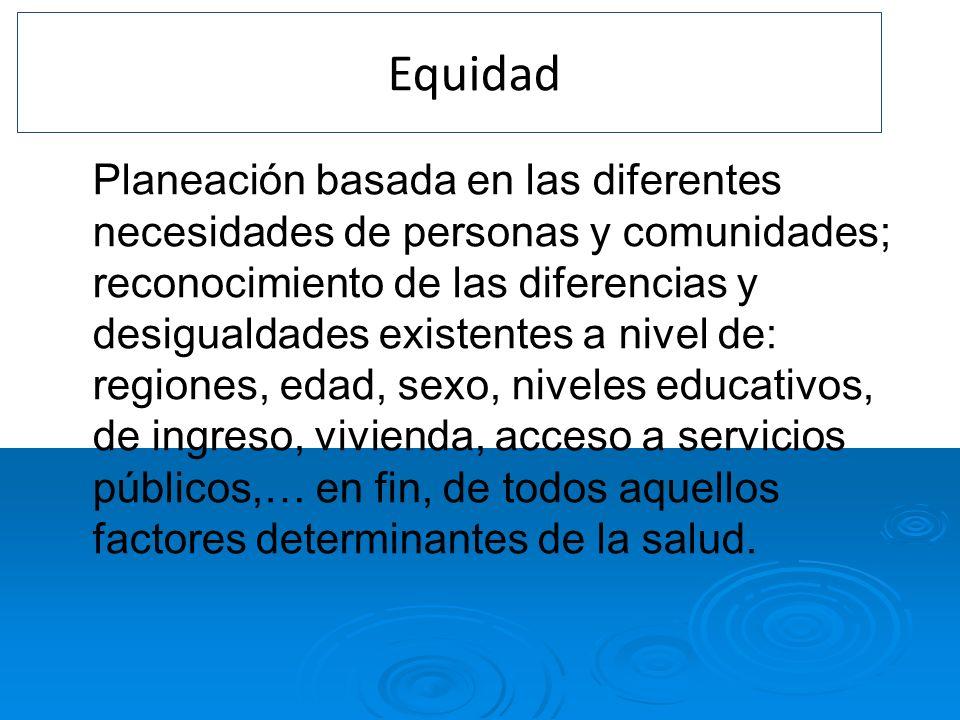 4. Equidad