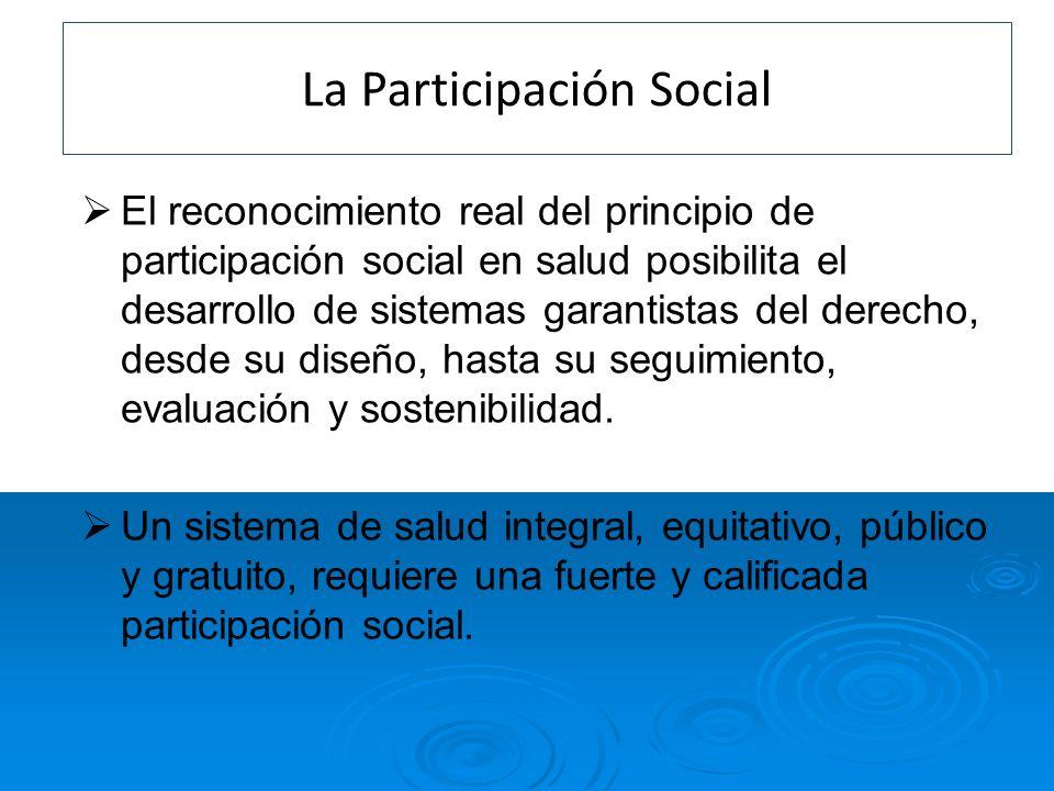 La Participación Social