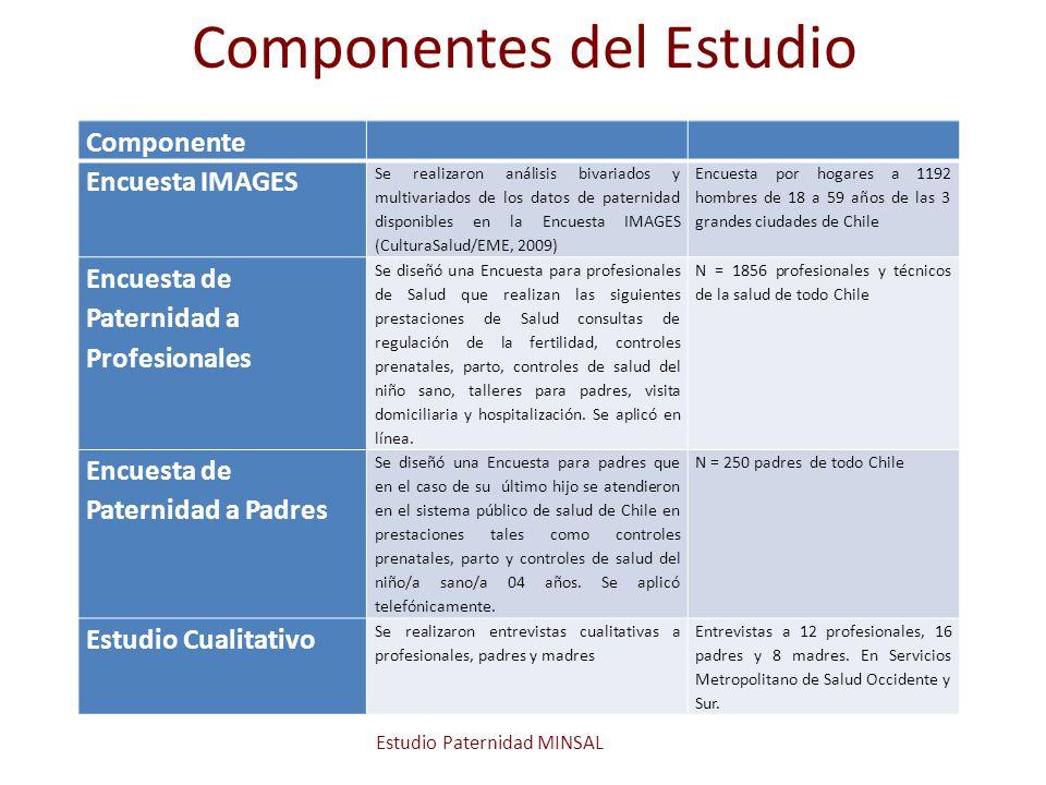 Componentes del Estudio