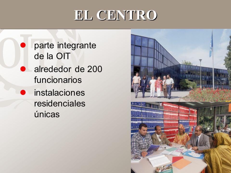 EL CENTRO parte integrante de la OIT alrededor de 200 funcionarios