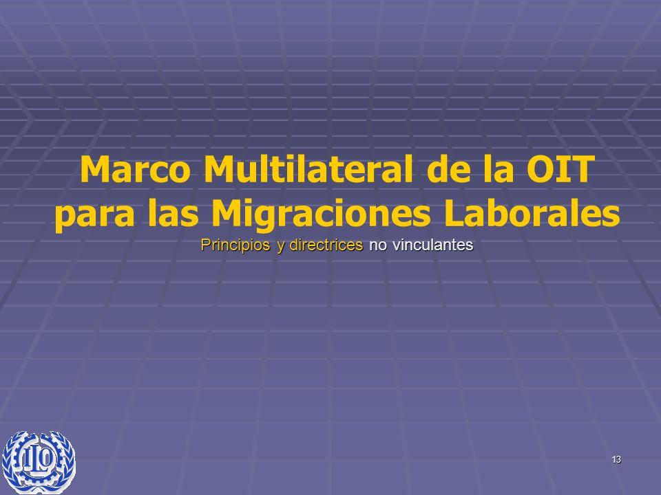 Marco Multilateral de la OIT para las Migraciones Laborales