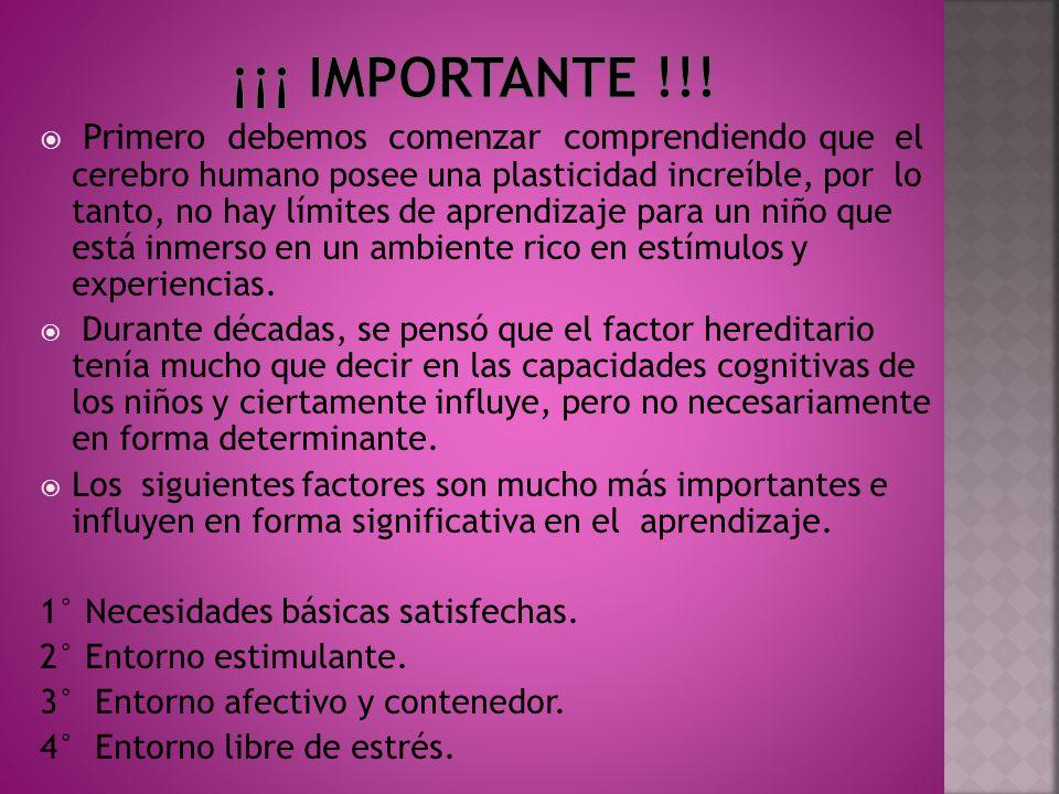 ¡¡¡ Importante !!!