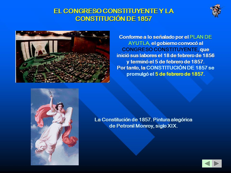EL CONGRESO CONSTITUYENTE Y LA CONSTITUCIÓN DE 1857