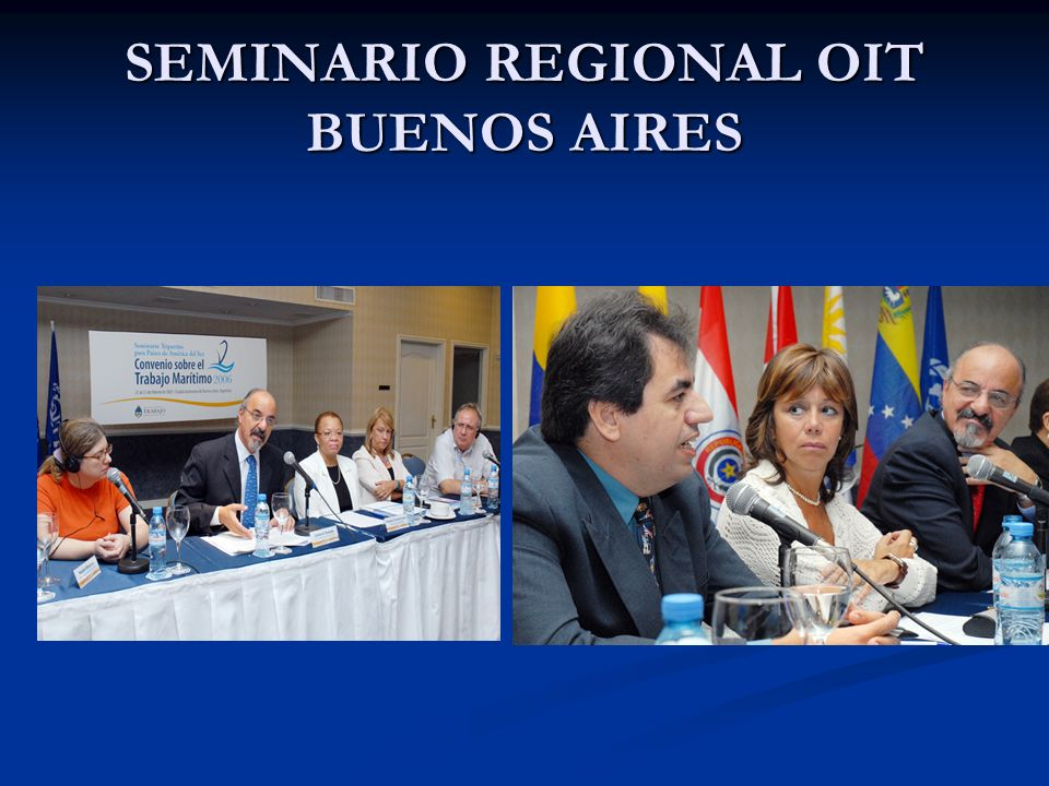 SEMINARIO REGIONAL OIT BUENOS AIRES