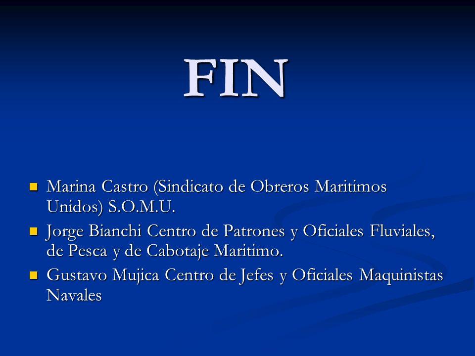 FIN Marina Castro (Sindicato de Obreros Maritimos Unidos) S.O.M.U.