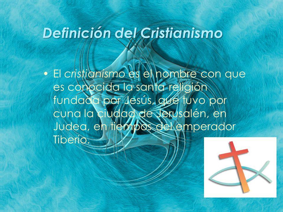 Definición del Cristianismo