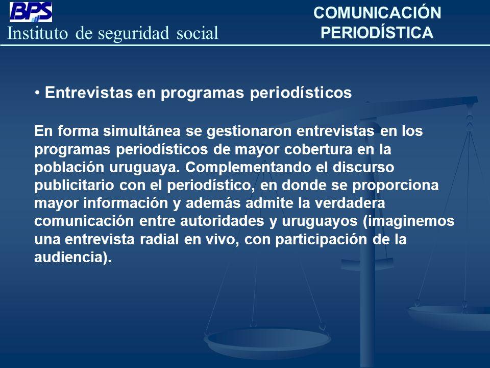 COMUNICACIÓN PERIODÍSTICA