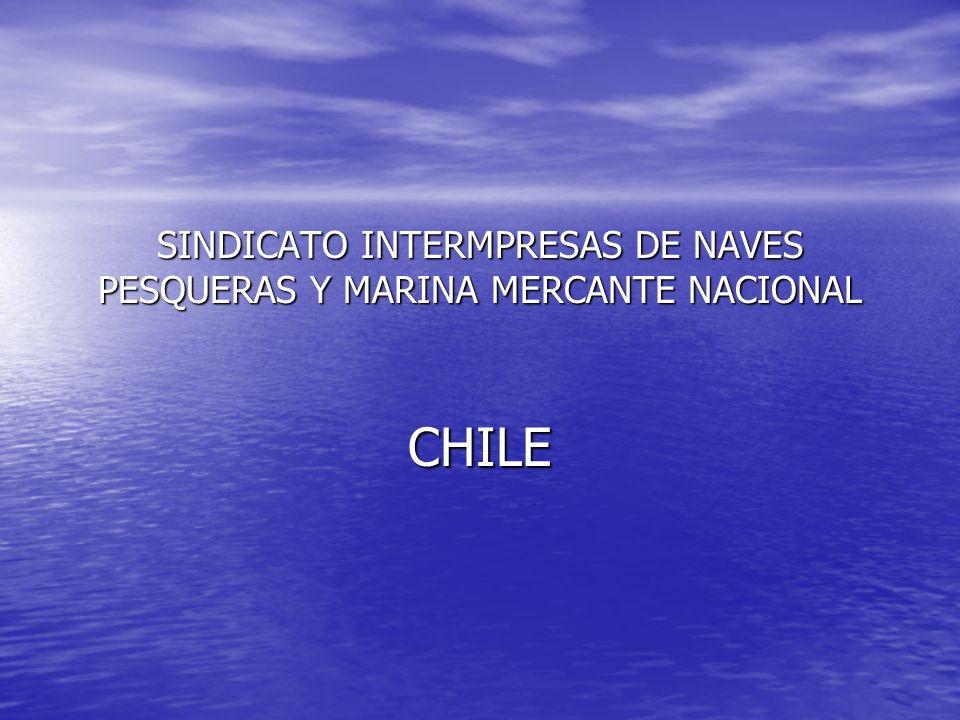 SINDICATO INTERMPRESAS DE NAVES PESQUERAS Y MARINA MERCANTE NACIONAL