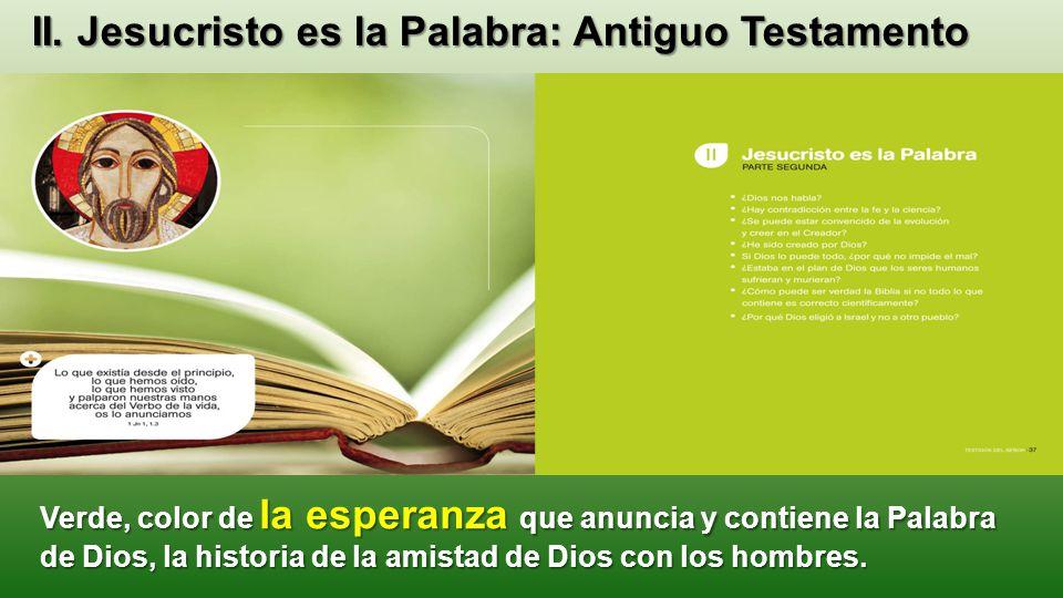 II. Jesucristo es la Palabra: Antiguo Testamento