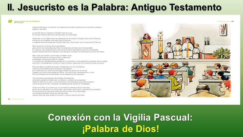 Conexión con la Vigilia Pascual: