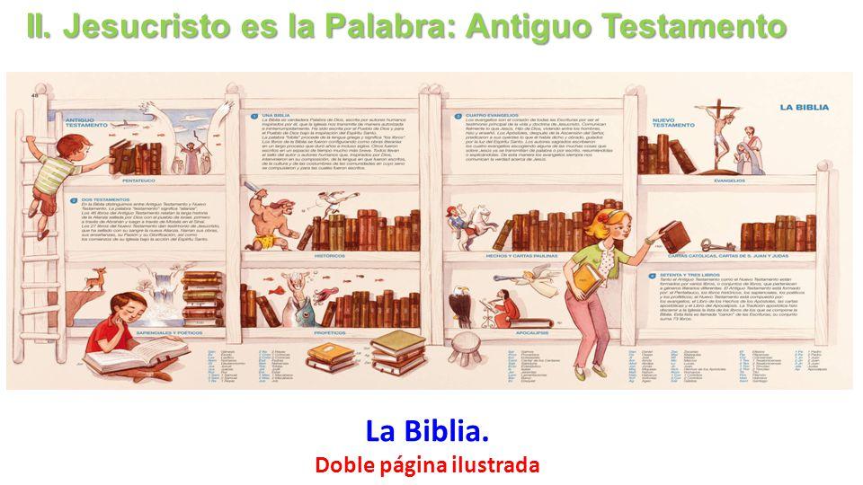 Doble página ilustrada