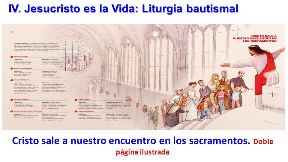IV. Jesucristo es la Vida: Liturgia bautismal